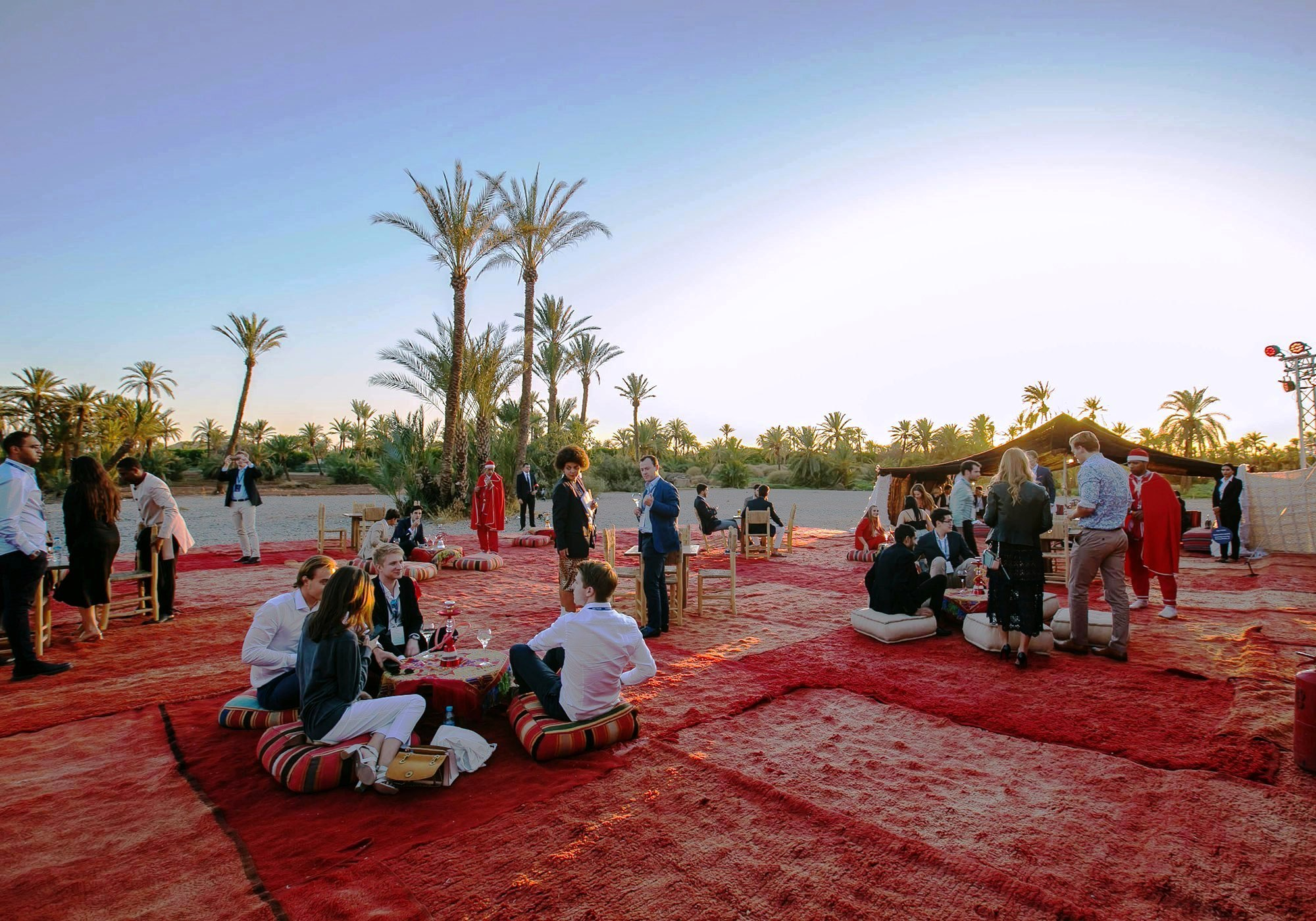 Business travel for corporate events and Incentives in Morocco