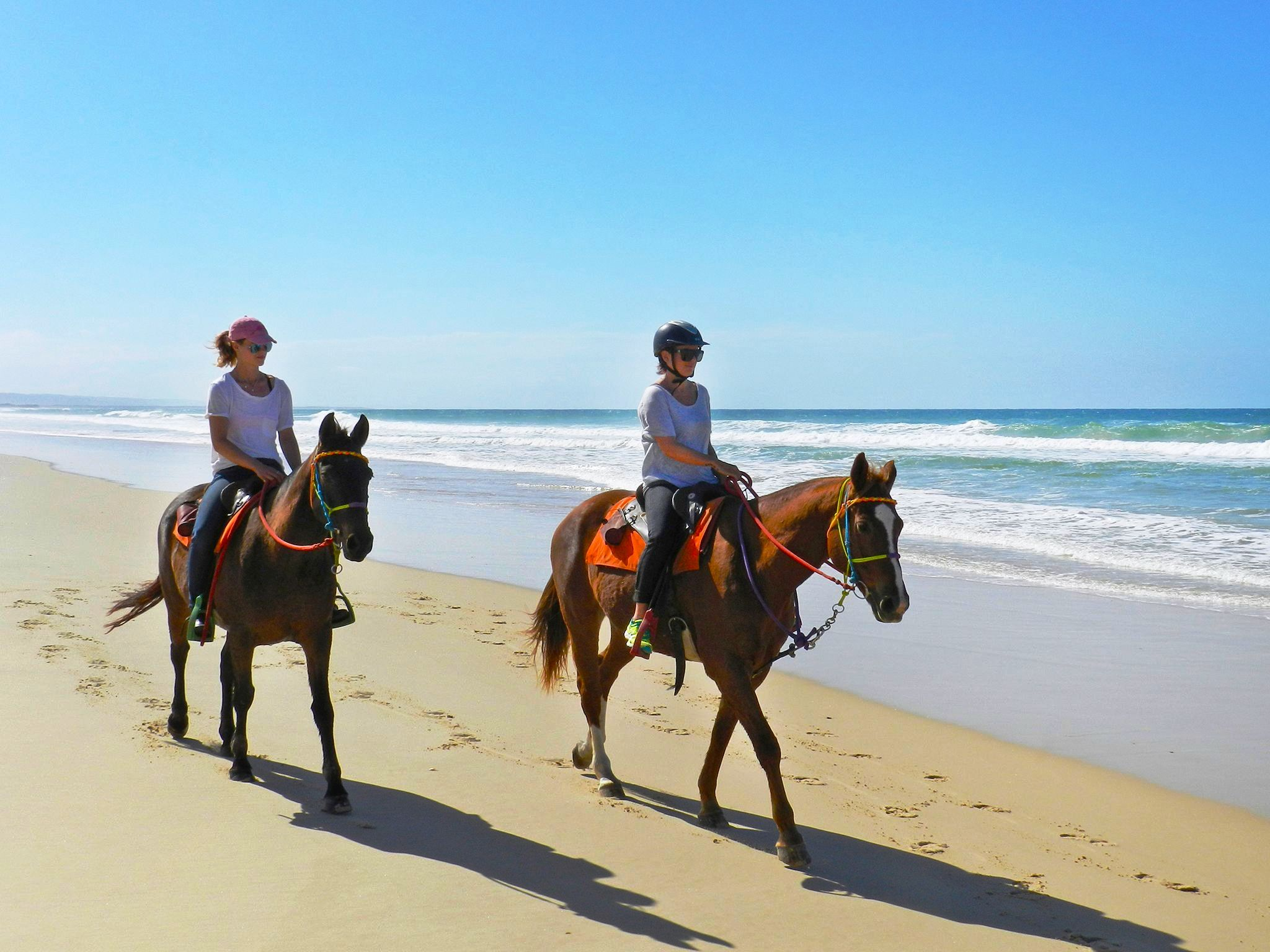 Morocco horse ride tour in the coastal city of Essaouira
