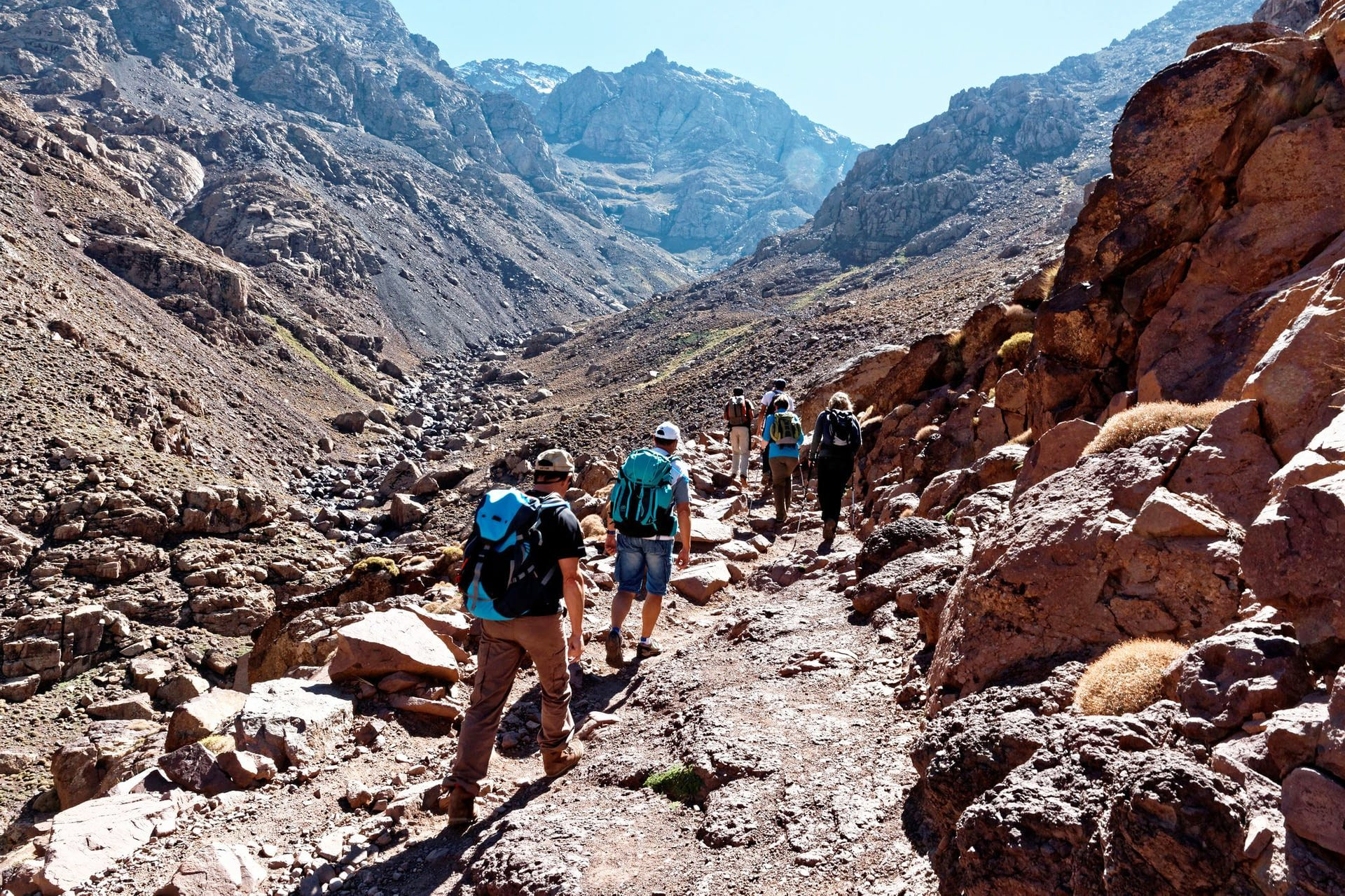04 days Atlas Mountains hiking tour from Marrakech in Morocco