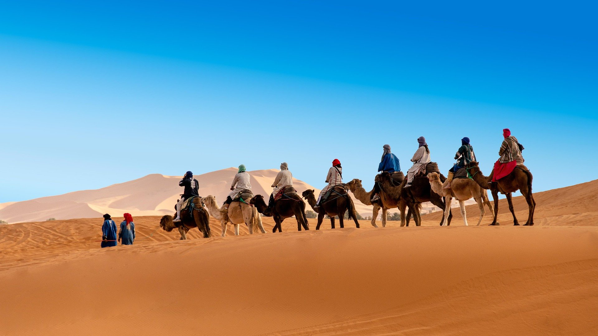 10 days Morocco New Year tour from Fez to explore the imperial cities and Sahara desert of Merzouga in Morocco